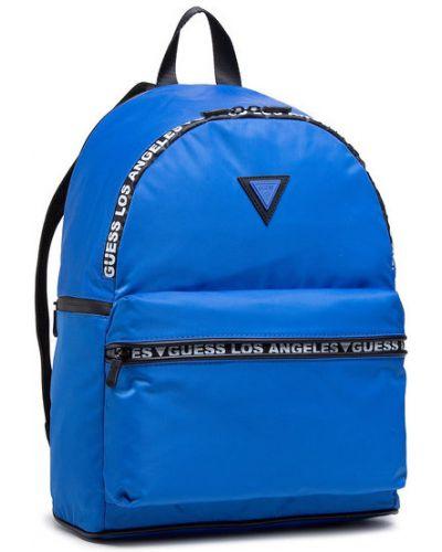 Niebieski sport plecak sportowy Guess