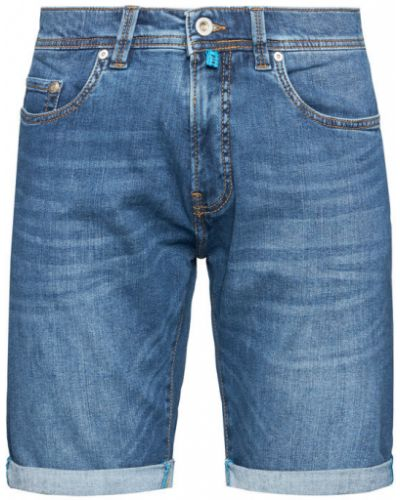 Szorty jeansowe granatowe Pierre Cardin