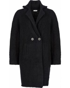 Шерстяное пальто - черное Twin-set