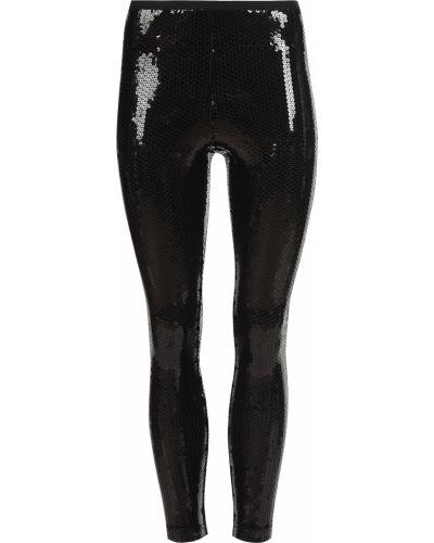 Леггинсы из полиэстера - черные Marc Jacobs