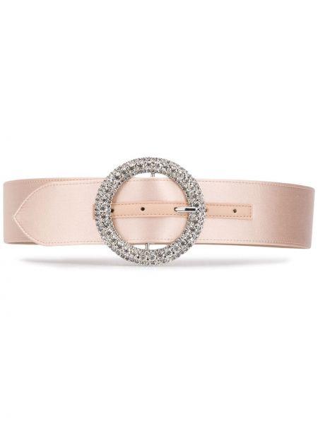 Ремень розовый кожаный B-low The Belt