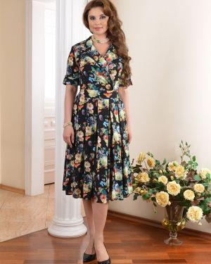 Летнее платье миди с запахом Salvi-s