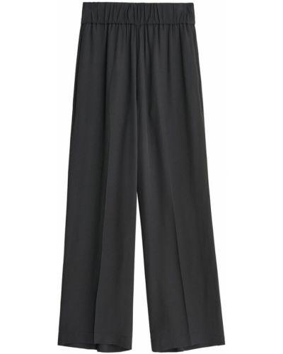 Czarne spodnie eleganckie By Malene Birger