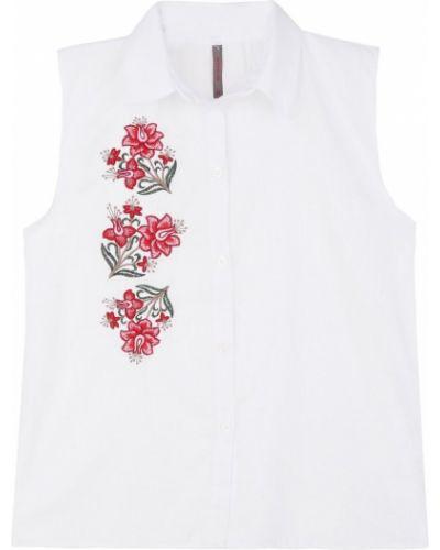 Biała koszula bez rękawów - biała Top Secret