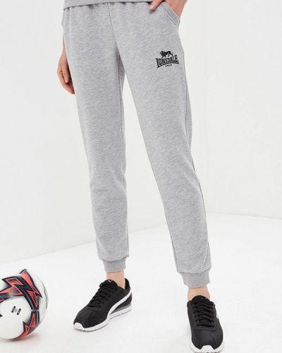Серые спортивные брюки Lonsdale