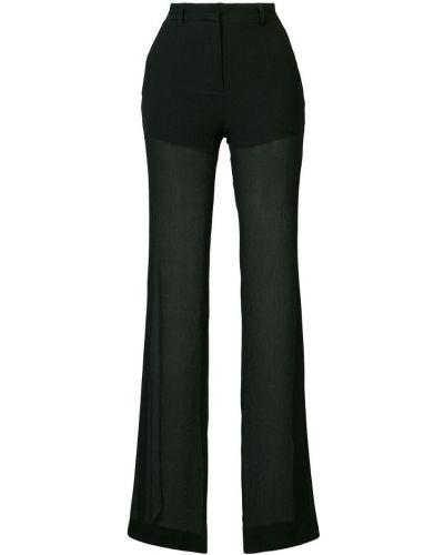 Шелковые брюки - черные Vionnet