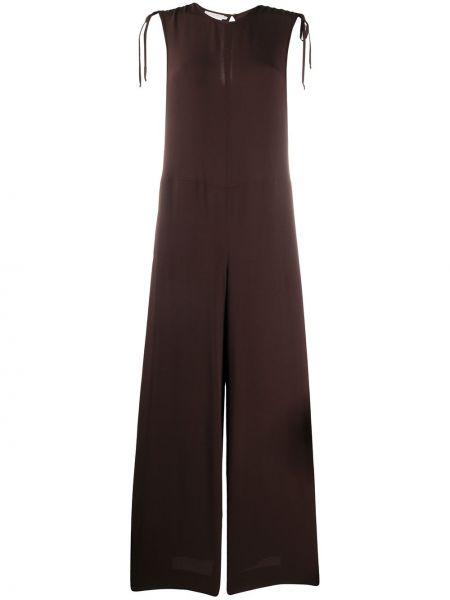 Комбинезон в полоску с широкими брюками Incotex