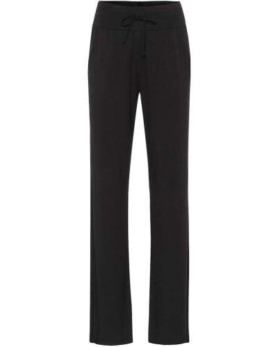 Черные классические брюки для йоги с карманами Alo Yoga
