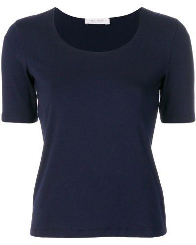 Базовая футболка - синяя Le Tricot Perugia