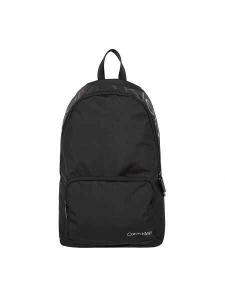 Czarny torba na ramię z printem Ck Calvin Klein