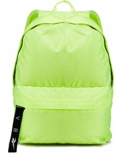 С ремешком зеленый рюкзак с вышивкой Reebok X Victoria Beckham