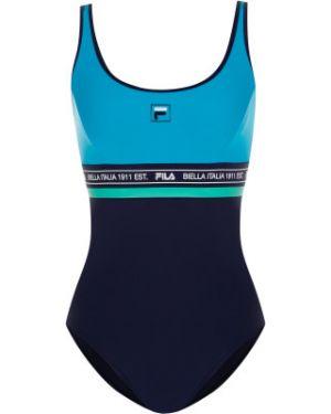 Спортивный нейлоновый гипоаллергенный спортивный купальник для бассейна Fila