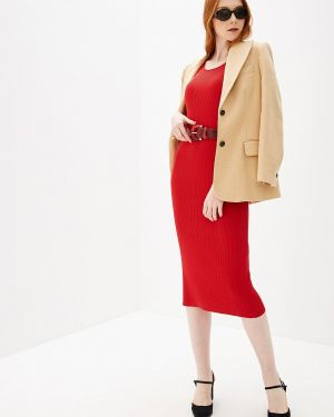 Платье прямое красный Glenfield