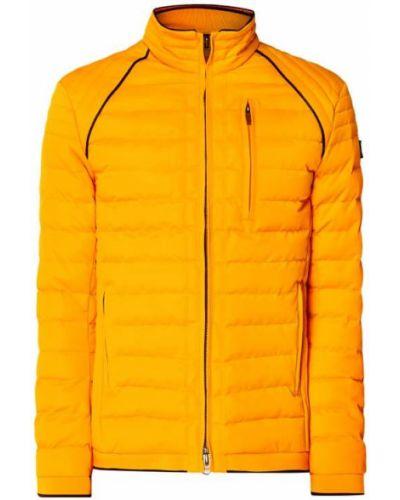 Prążkowana ciepła żółta kurtka Wellensteyn