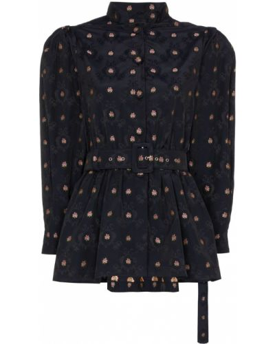 Блузка с длинным рукавом в полоску батник N Duo