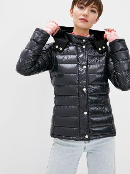 Зимняя куртка черная весенняя Max&co