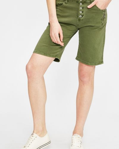 Зеленые шорты Answear