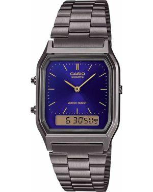 Часы водонепроницаемые костюмный синий Casio