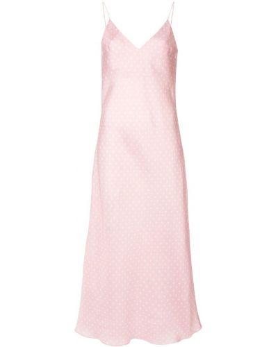 Платье розовое с открытой спиной Walk Of Shame