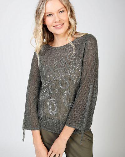 Серый хлопковый пуловер Monari