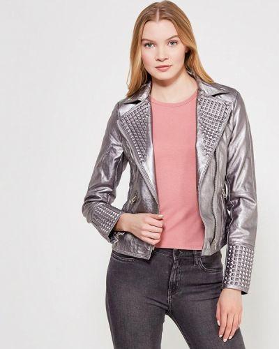 Куртка серебряного цвета Grand Style