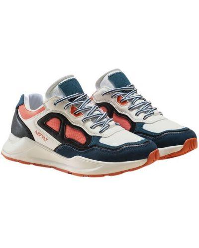 Białe sneakersy do biegania Asfvlt