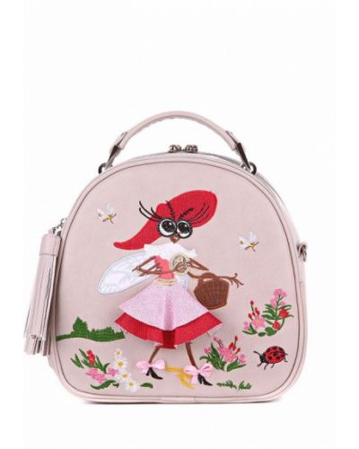 Бежевый рюкзак Alba Soboni
