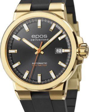 Часы механические водонепроницаемые швейцарские Epos