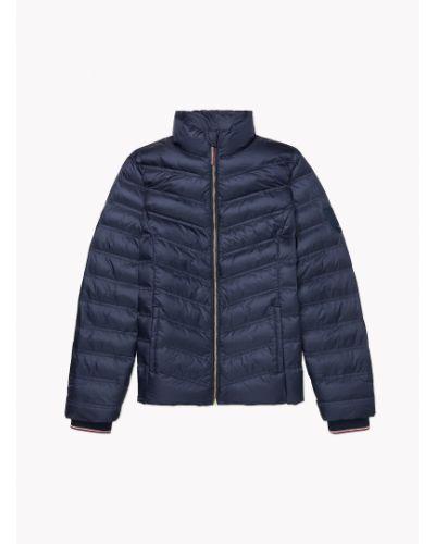 Синяя демисезонная куртка Tommy Hilfiger