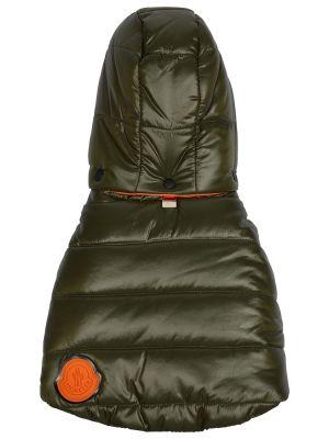 Оранжевая пуховая жилетка двусторонняя Moncler