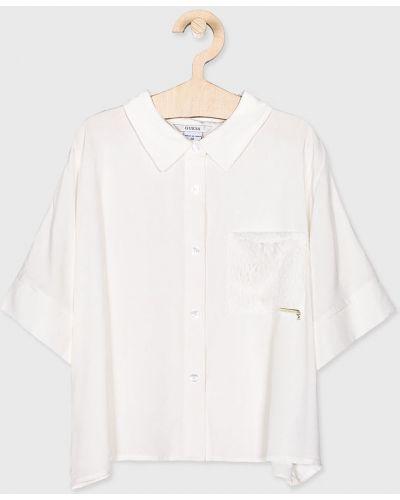 Блуза белая Guess Jeans