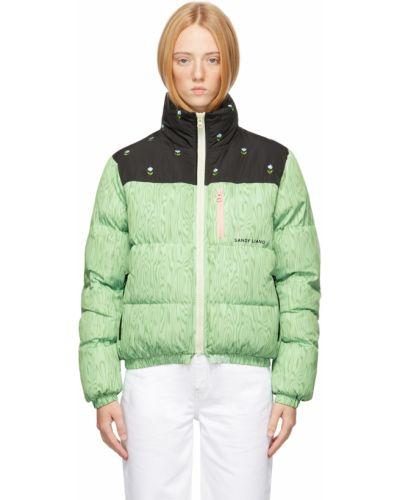Белая дутая куртка Sandy Liang