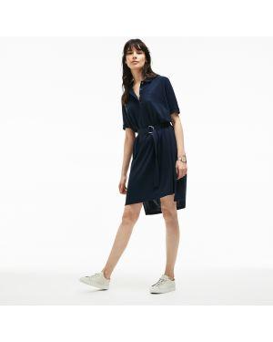 Платье синее Lacoste