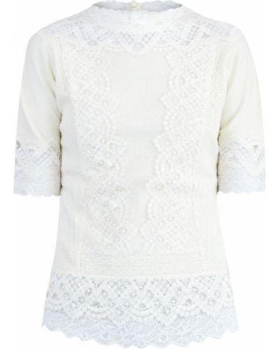 Блузка кружевная приталенная Ermanno Scervino