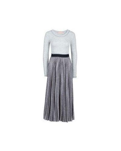 Серое повседневное платье Smarteez