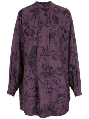 Платье макси длинное - фиолетовое Osklen