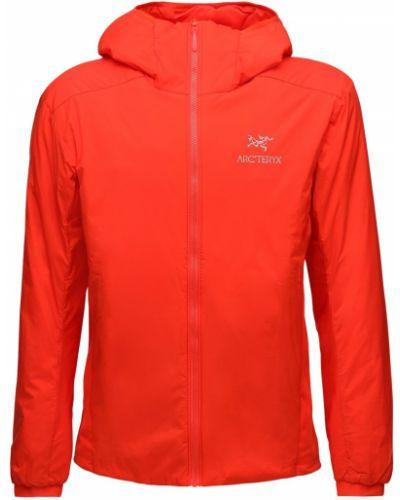 Нейлоновая куртка с карманами на молнии Arcteryx