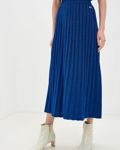 Синяя юбка свободного кроя Akhmadullina Dreams