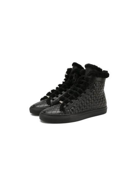 Высокие кеды черные для обуви Le Silla