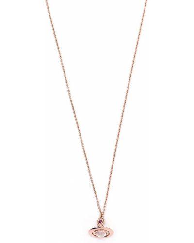 Ожерелье металлическое - розовое Vivienne Westwood