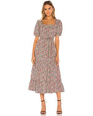 Платье макси с поясом на молнии Free People