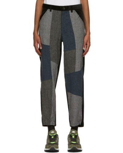 Czarne spodnie sztruksowe Comme Des Garcons Shirt