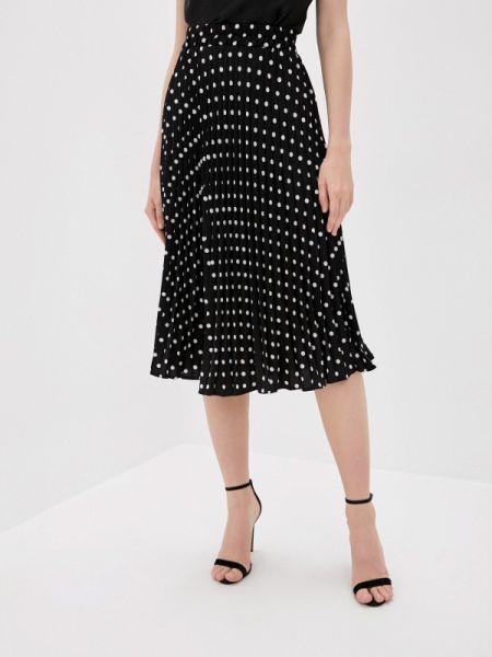 Плиссированная юбка осенняя черная Bad Queen