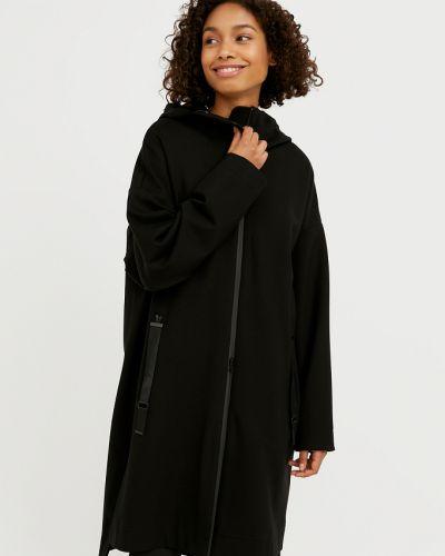 Пальто из полиэстера - черное Finn Flare