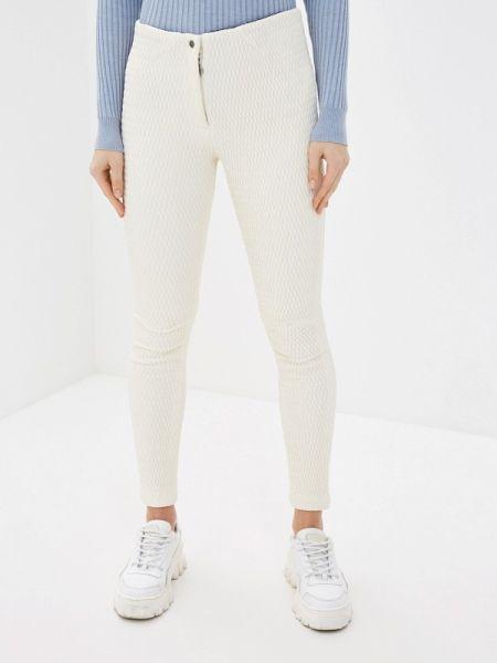 Утепленные брюки - белые Naumi