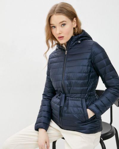 Утепленная синяя куртка Ostin