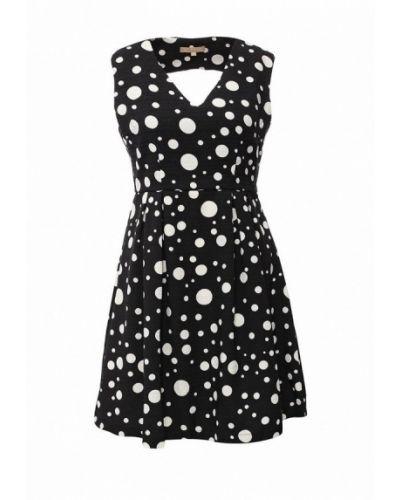 Черное платье весеннее By Swan