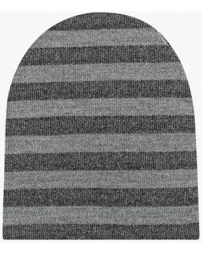 Шапка осенняя серебряного цвета Sahera Rahmani