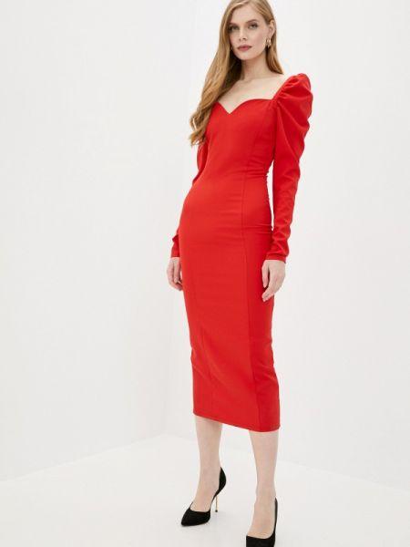 Красное вечернее платье Lipinskaya Brand
