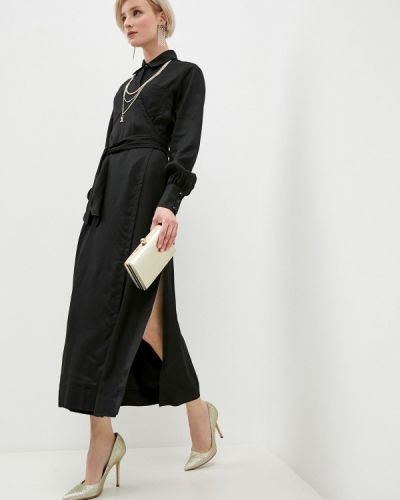 Повседневное черное платье Just Cavalli
